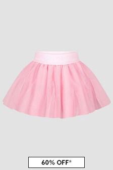 Monnalisa Baby Girls Pink Skirt