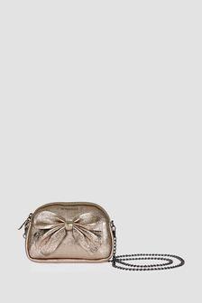 Monnalisa Girls Silver Bag