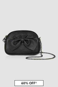 Monnalisa Girls Black Bag
