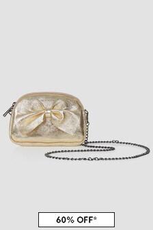 Monnalisa Girls Gold Bag