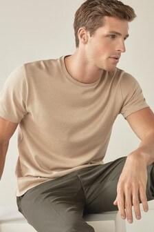 Short Sleeve Jersey Knit T-Shirt