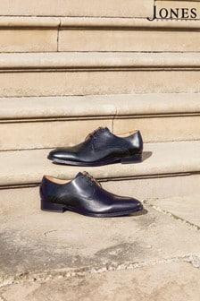 Jones Bootmaker Black Monument Leather Derby Shoes
