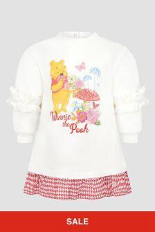 Monnalisa Baby Cream Dress