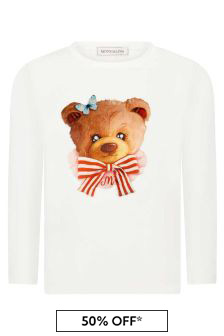 Monnalisa Cream T-Shirt