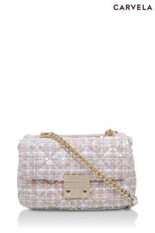 Carvela Cream Mini Soft Bailey Bag