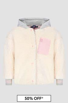 Tommy Hilfiger Girls Ivory Jacket