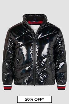 Tommy Hilfiger Girls Black Jacket