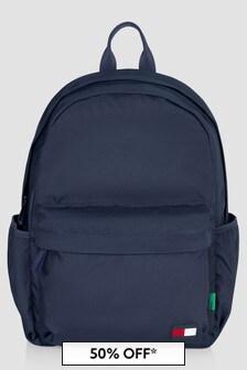 Tommy Hilfiger Boys Navy Backpack