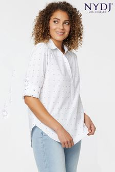 NYDJ Contempo Tunic With Tab Sleeves