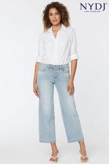 NYDJ Solstice Teresa Wide Leg Ankle Jeans