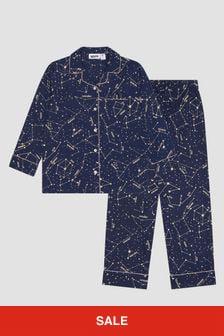 Molo Kids Navy Pyjama Top
