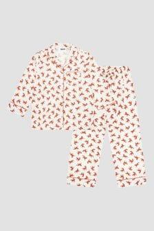Molo Girls Cream Pyjamas