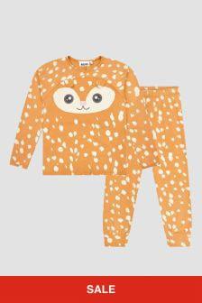Molo Girls Brown Pyjamas