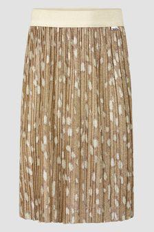 Molo Girls Brown Skirt