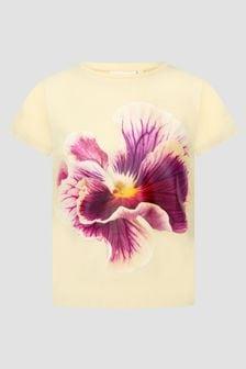 Molo Girls Yellow T-Shirt