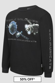 Molo Boys Black T-Shirt