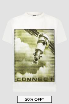 Molo Boys White T-Shirt