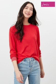 Joules Vicky Linen Blend Knitted Jumper