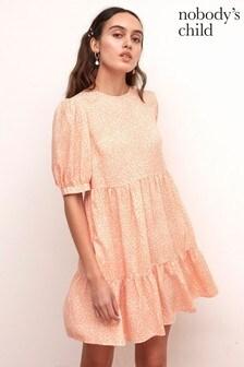 Nobody's Child Pink Rochelle Mini Dress