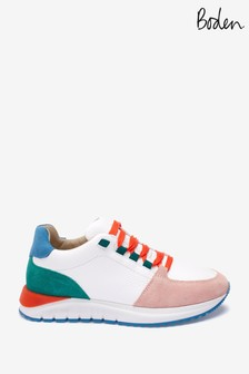 Boden Red Classic Trainers