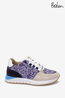 Boden Blue Classic Trainers