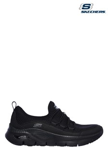 Skechers Black Arch Fit Lucky Trainers