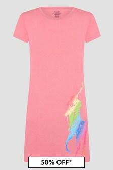 Ralph Lauren Kids Pink Dress