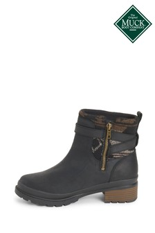 Muck Boots Black Liberty Ankle Supreme Boots