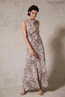 Mint Velvet Bethany Cowl Neck Maxi Dress