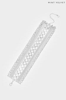 Mint Velvet Silver Tone Layered Bracelet