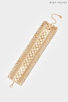 Mint Velvet Gold Tone Layered Bracelet
