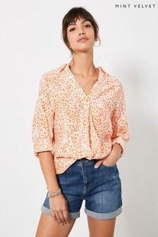 Mint Velvet Gracie Long Oversized Shirt
