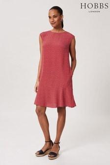 Hobbs Pink Catalina Dress