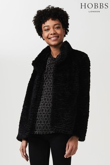 Hobbs Black Lia Coat