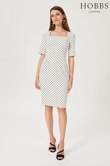 Hobbs White Astraea Dress