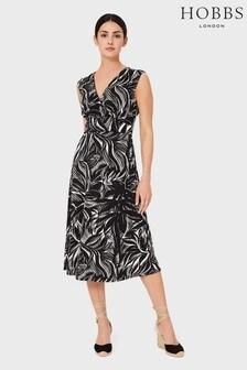 Hobbs Black Darcie Dress