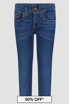 Calvin Klein Jeans Boys Blue Jeans