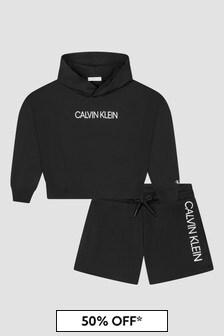 Calvin Klein Jeans Black Hoodie Set