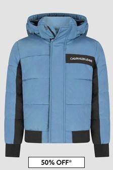 Calvin Klein Jeans Boys Blue Jacket