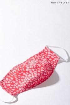 Mint Velvet Jamie Pink Print Face Covering