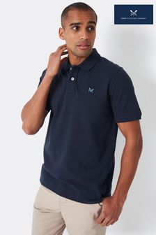 Crew Clothing Company Navy Ocean Polo Shirt