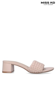 Miss KG Cream Prue Wide Fit Sandals