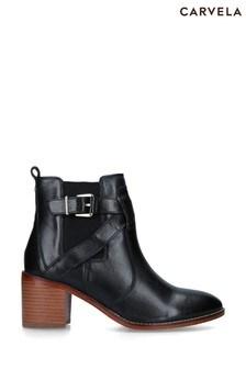 Carvela Black Slick Boots