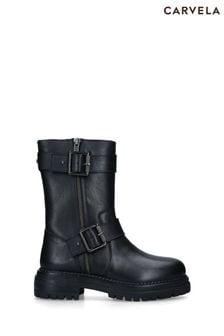 Carvela Black Sand Boots
