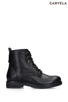 Carvela Black Sturdy Boots