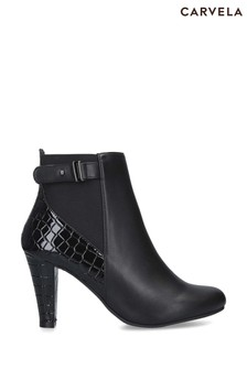 Carvela Comfort Black Treasure Boots