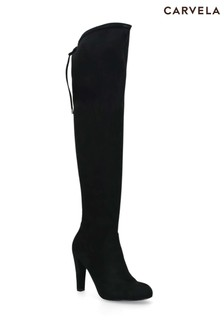 Carvela Black Pammy Boots