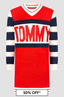Tommy Hilfiger Girls Red Dress