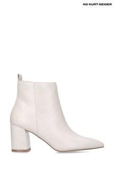 Kurt Geiger Cream Suki Boots