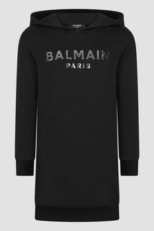 Balmain Girls Black Dress